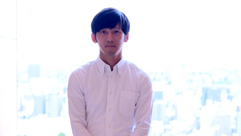 講談社、若手経理の田中類さん正面画像