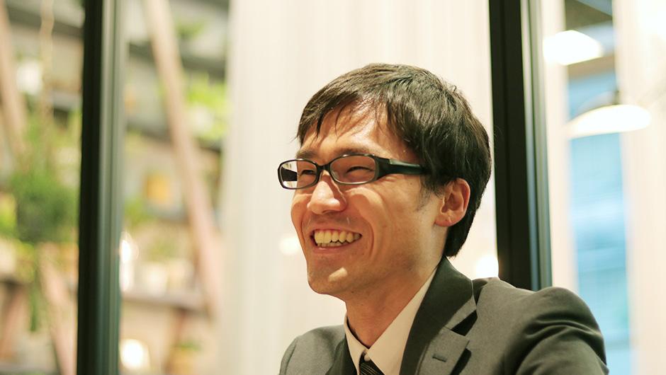 ミスミ、高橋光生さんの笑顔