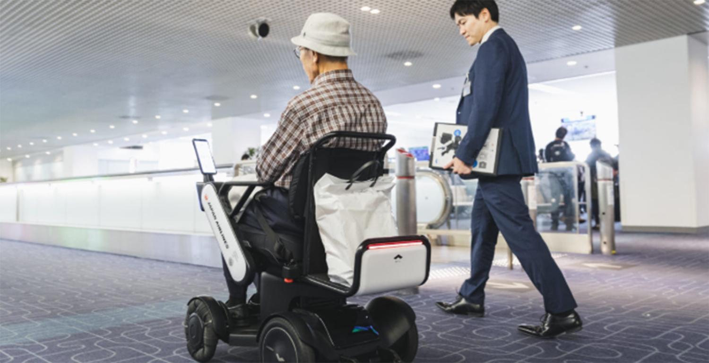 WHILLの羽田空港実証実験の様子