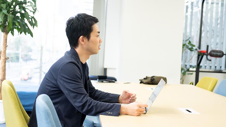 MOVOを提供するHacobuのCOO坂田優さんの視線
