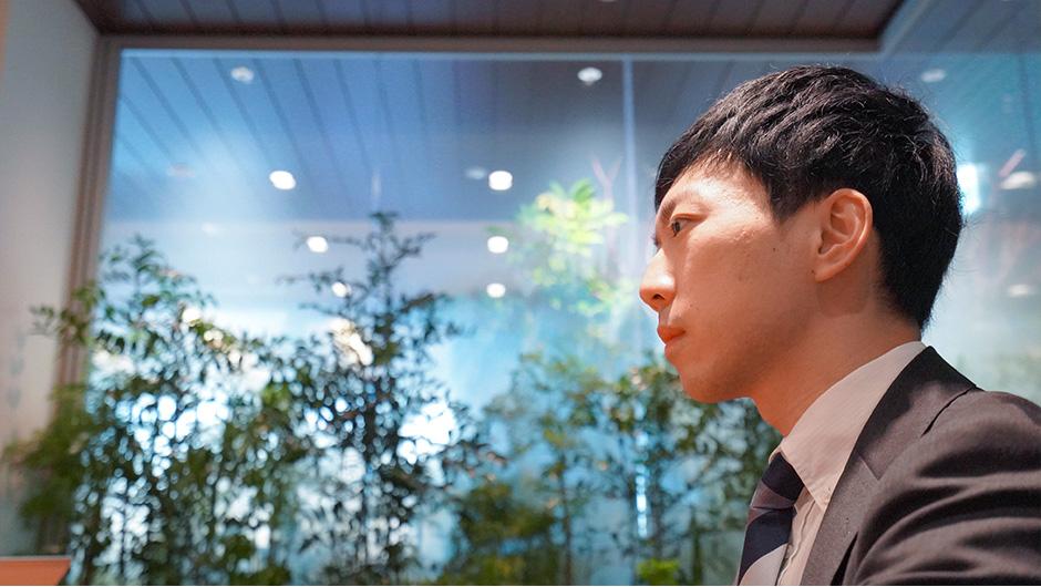 セールスフォース・ドットコム作田さんの横顔