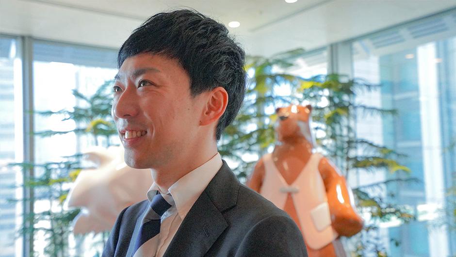 セールスフォース・ドットコム作田さんの横顔2