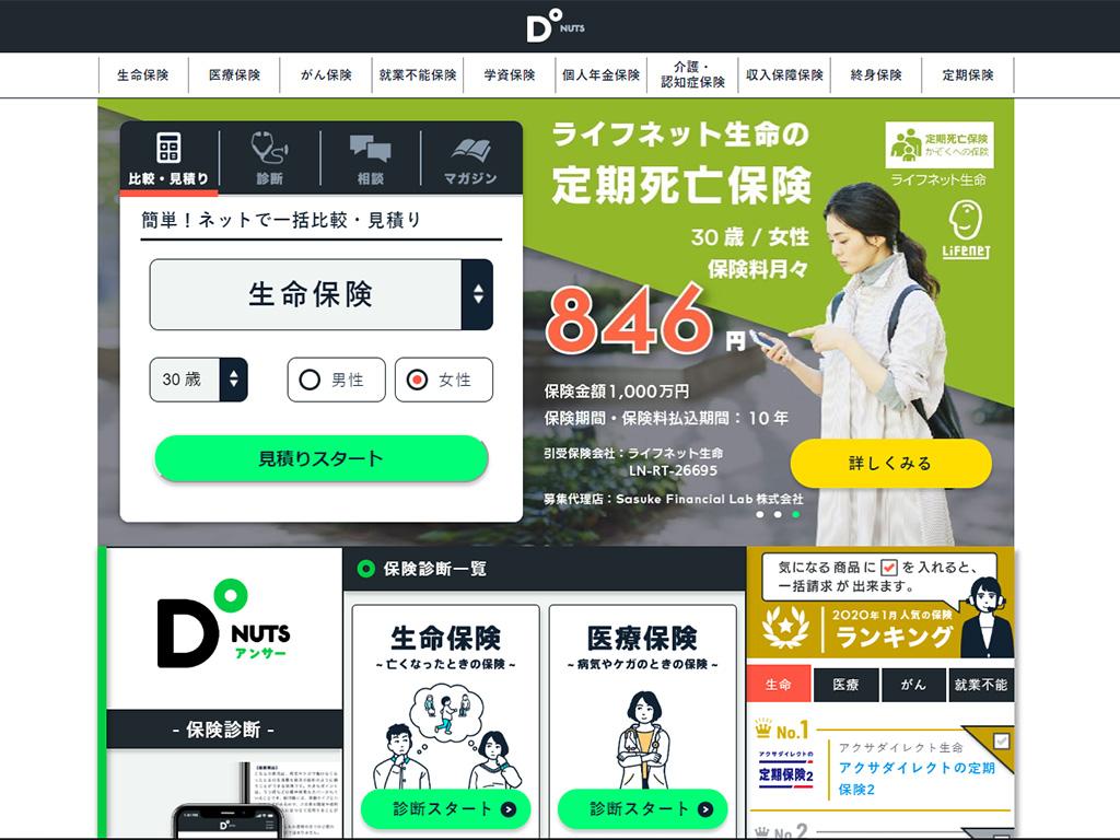 Sasuke Financial Labのサービス図