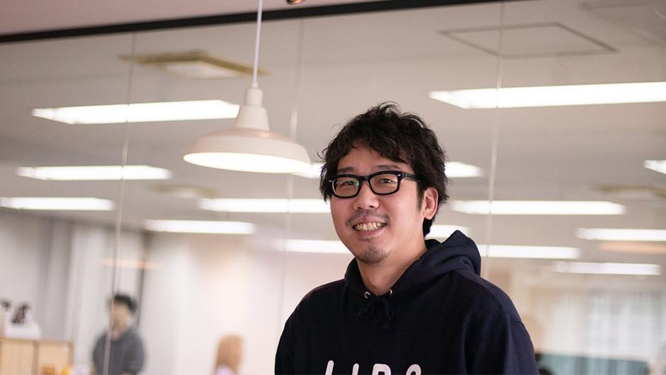 株式会社AppBrew執行役員・児玉 悠佑さんの正面顔
