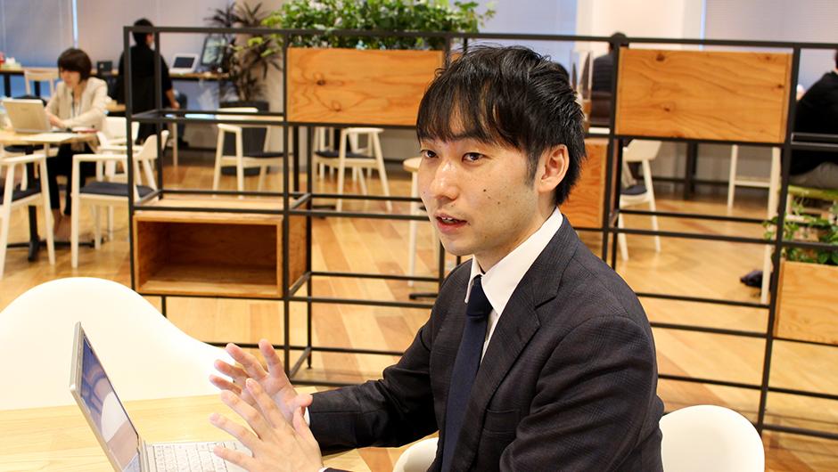 グロービス尾花宏之さんの横顔画像
