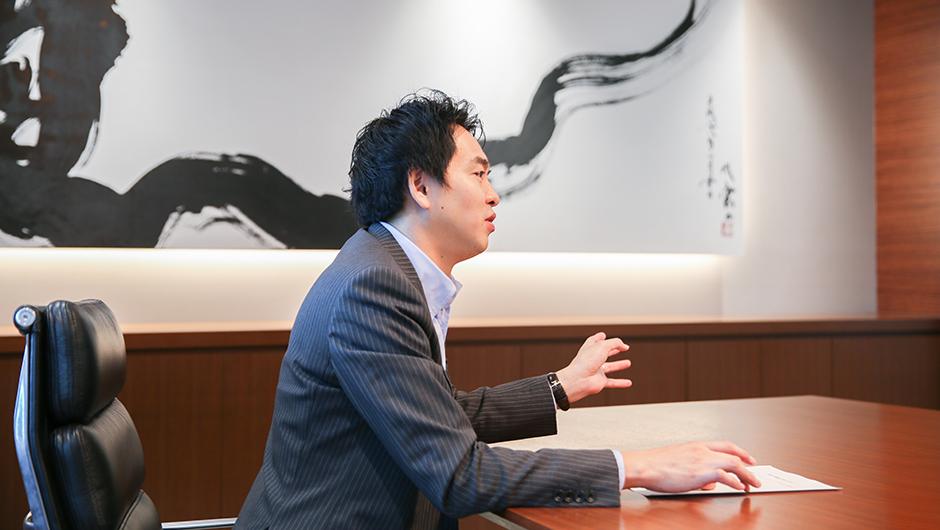日本M&Aセンター渡部恒郎さんの横顔