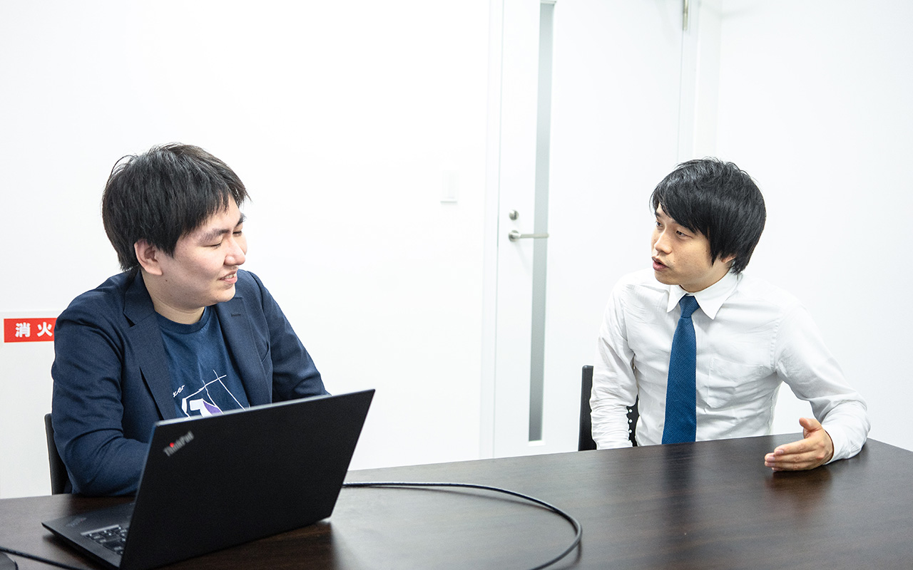 モノグサ代表取締役 CEO竹内 孝太朗さんの横顔