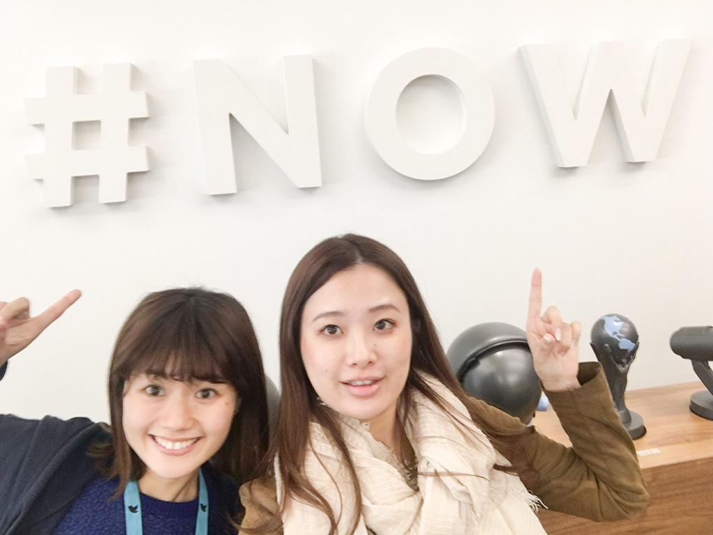Twitter Japan古関茉莉耶さんのイベント写真