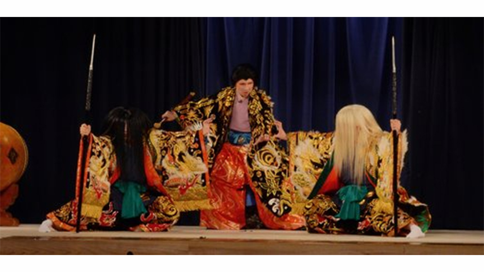 安芸高田市の伝統芸能・神楽の画像