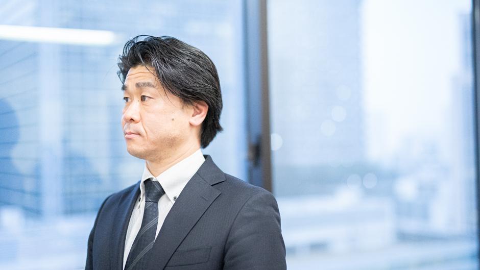 経済産業省の特殊関税等調査室 室長の平林孝之さん未来を見据える画像