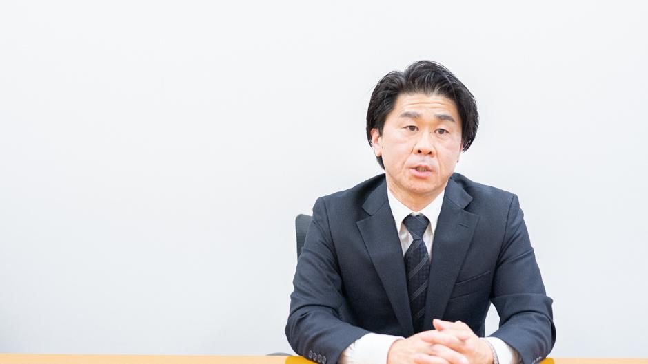 経済産業省の特殊関税等調査室 室長の平林孝之さん正面画像