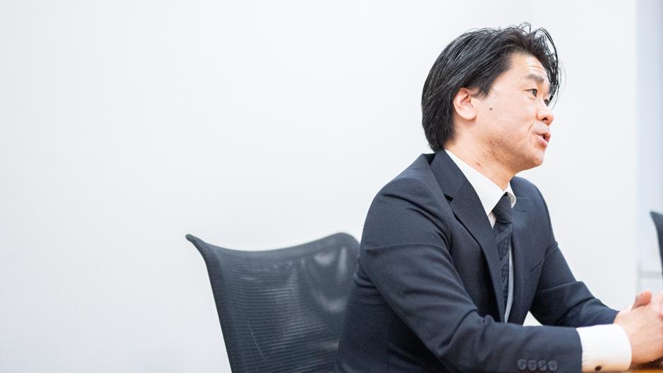 経済産業省の特殊関税等調査室 室長の平林孝之さん横顔