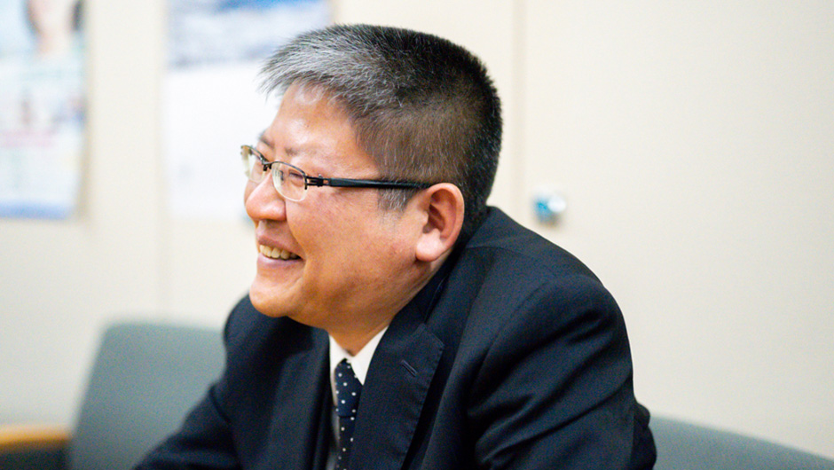 総務省の大臣官房秘書課長 武藤氏の笑顔