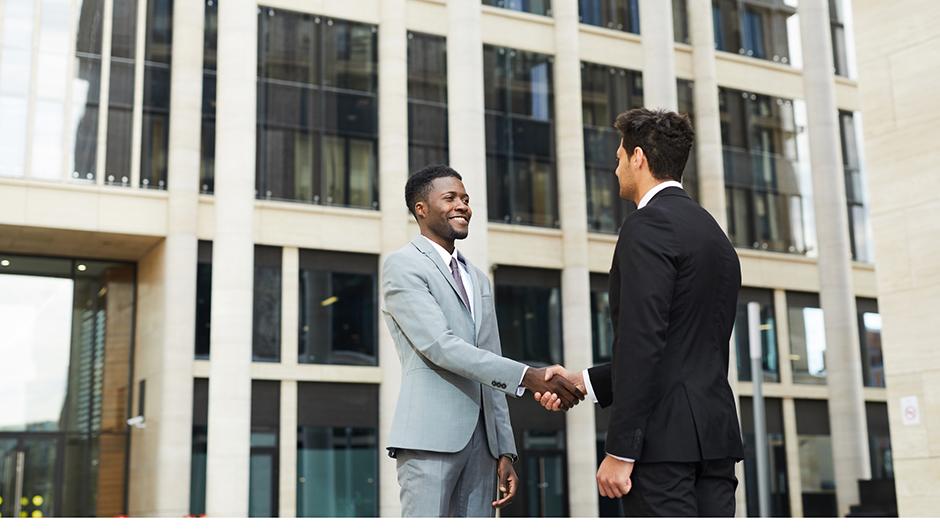 アフリカでのビジネスの様子