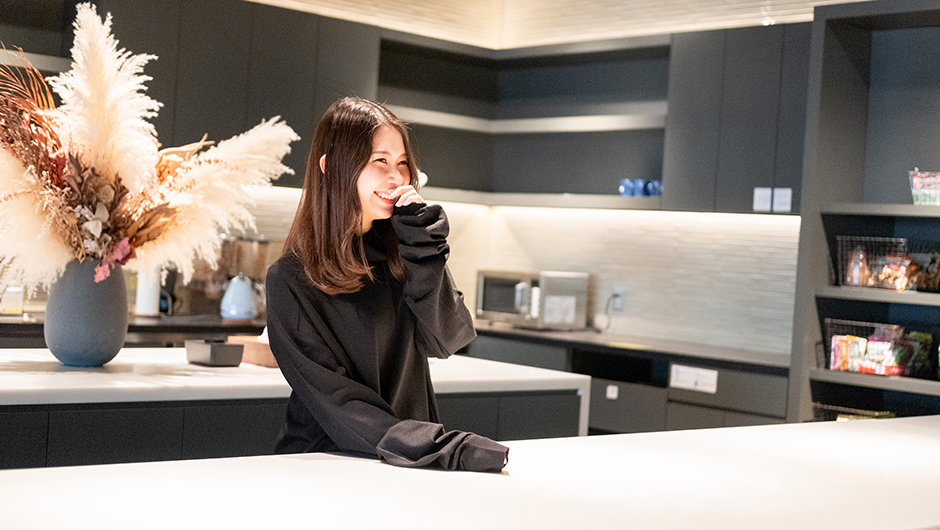 Twitter Japanのマーケター木和田奈々子さんの笑顔