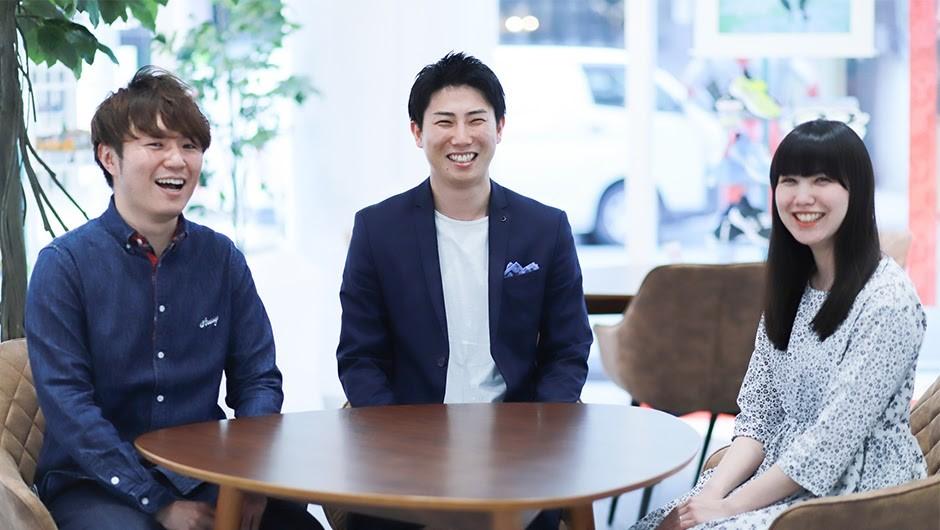 株式会社バンダイ企画職3名の正面画像