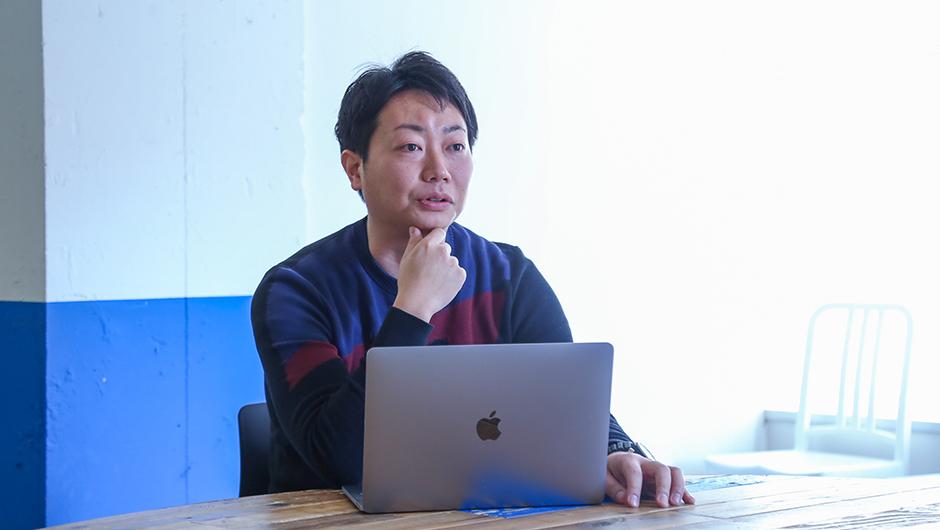 goodpatchデザインストラテジスト伊澤和宏さんの正面顔