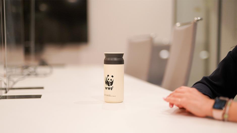 WWFのタンブラー画像